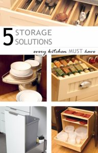 5 Storage Solutions Every Kitchen MUST Have