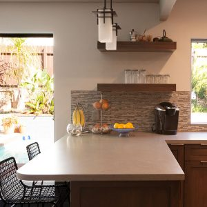 Expanding Counter Space and Character in a Contemporary Kitchen Remodel