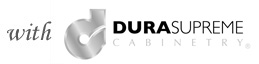With Dura Supreme Cabinetry