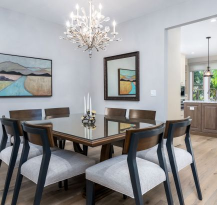 Contemporary Dining Room Remodel Westlake Village