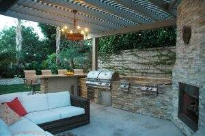 A Fantastic Outdoor Kitchen