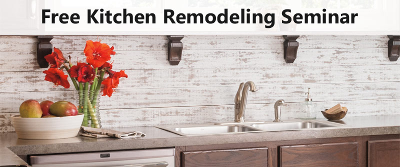 "Second Free Remodeling Seminar: ""Love Your Kitchen Again!"